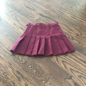 Tennis Skirt from American Apparel